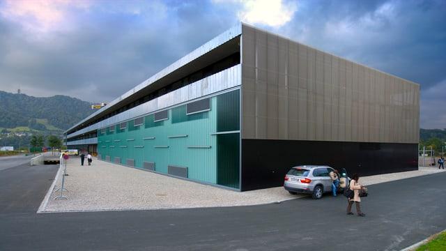 Schule Adliswil, modernes Gebäude