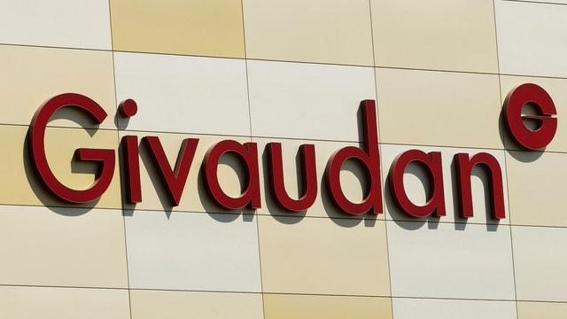 Il logo da l'interpresa svizra Givaudan.