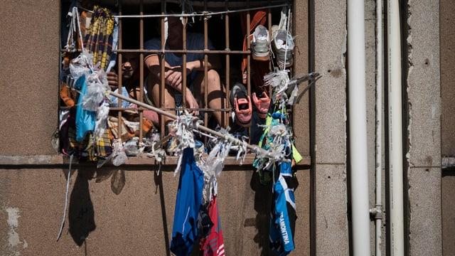 Viele brasilianische Gefängnisse sind überfüllt, die Zustände schlecht (Symbolbild).