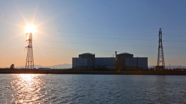Ovra atomara Fessenheim.