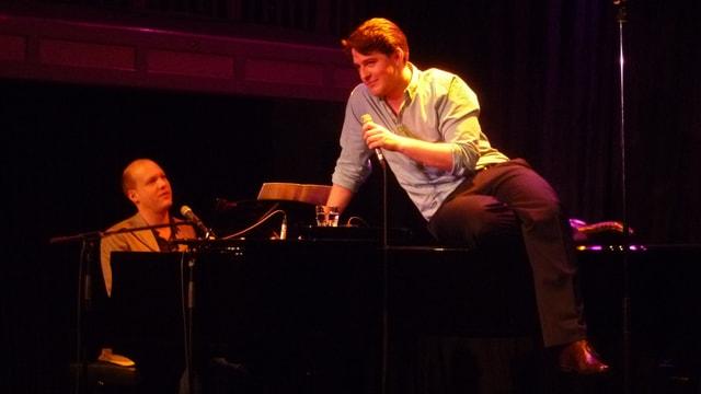 Diego Valsecchi (auf dem Piano) und Pascal Nater (am Piano)