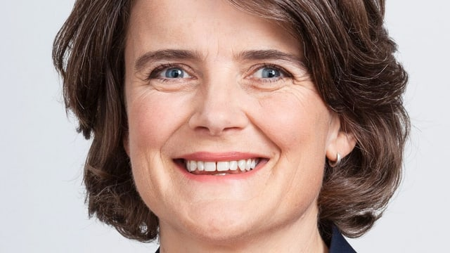Nahaufnahme von Kathrin Schweizer.