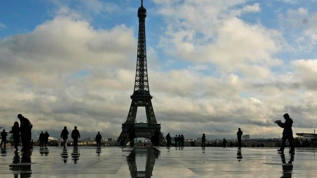 La Tur d'Eiffel.