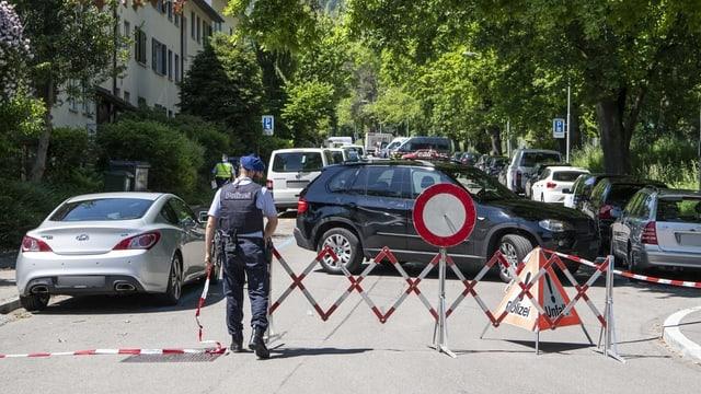 via serrada cun patruglia da policist