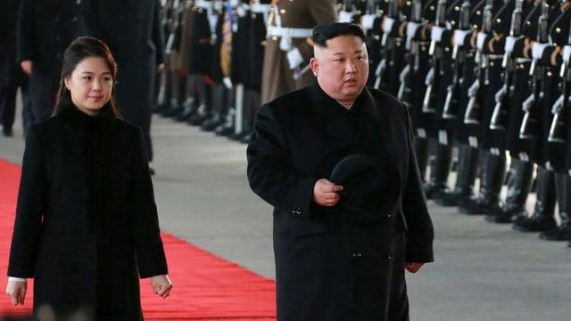 Kim Jong Un e sia dunna.