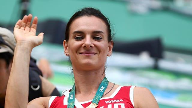Jelena Isinbajewa dat adia al sport da prestaziun.