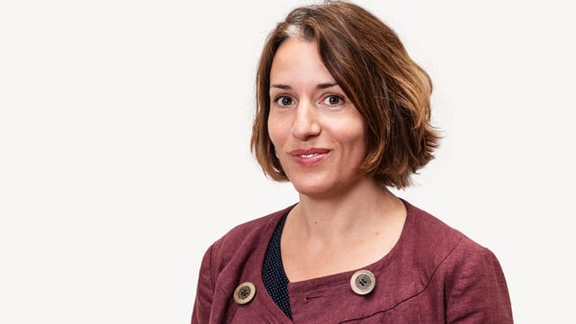 SRF-Redaktorin Marlène Sandrin