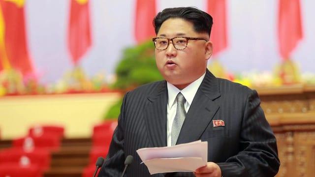 Purtret da Kim Jong Un