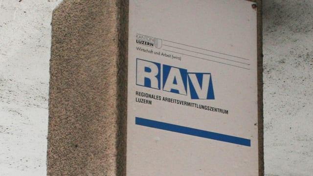 RAV Arbeitslosenzentrum des Kantons Luzern