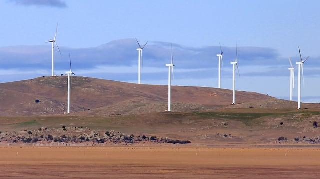 Windpark in Australien