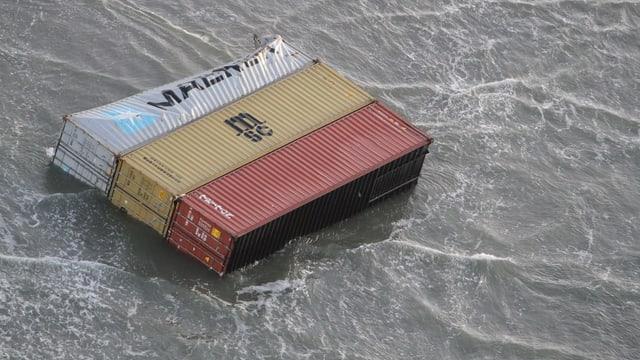 containers en l'aua