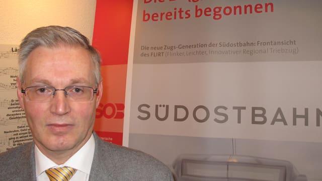 Südostbahn-Chef Thomas Küchler.