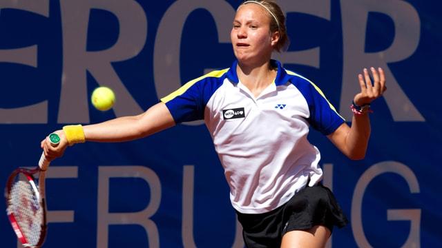 Nach starkem Beginn musste Golubic gegen Hlavackova unten durch.