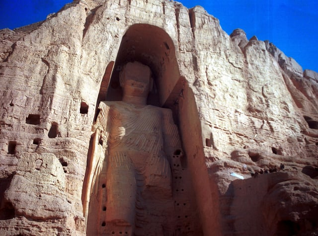 Buddha-Statue in Bamian.