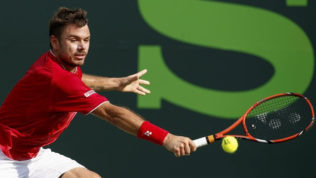 Stanislas Wawrinka in Aktion