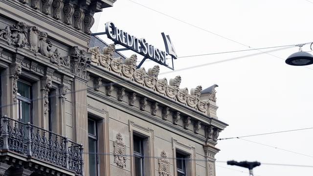Credit Suisse, Hauptsitz in Zürich.