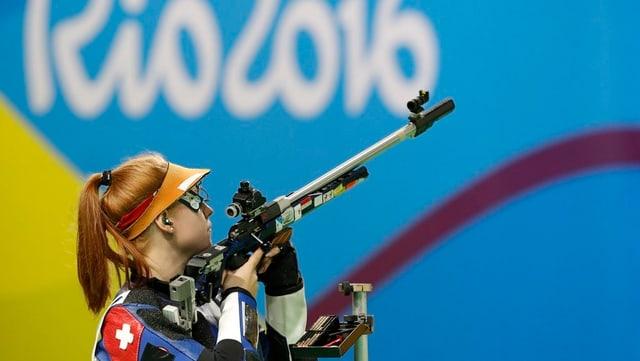 La tiradura Nina Christen a Rio.