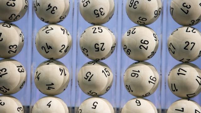 Zahlenlottokugeln