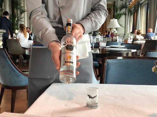Quai saja in dals pli enconuschents vodkas en Russia.