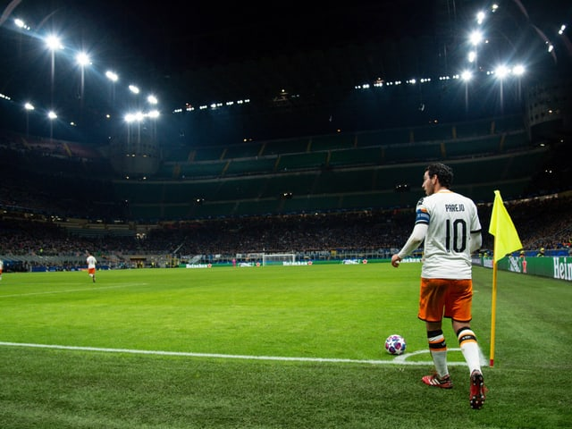 Valencia mit Captain Dani Parejo.
