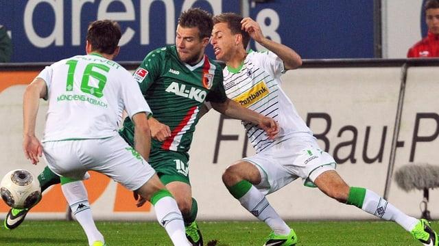 Mönchengladbach und Augsburg teilten die Punkte.