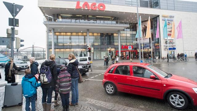 Einkaufszentrum Lago in Konstanz