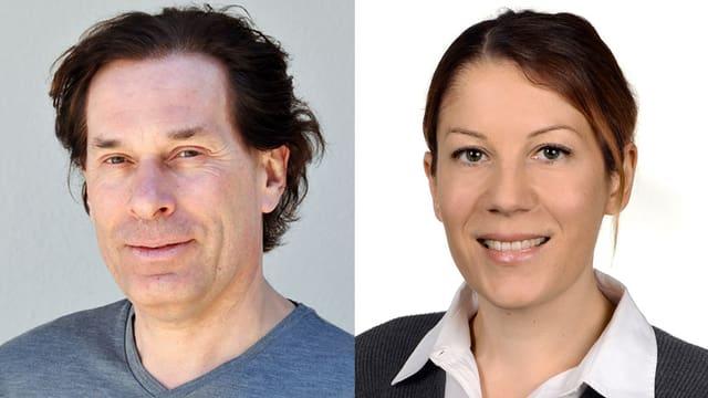 Dr. Claus Aichmüller und Dr. Silvana Grieco