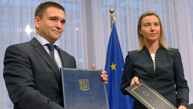 Klimkin und Mogherini