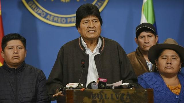 Purtret dad Evo Morales.