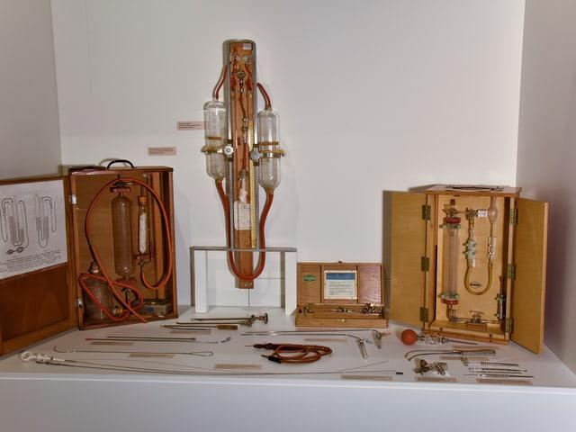 Gerätschaften für Tuberkolosekranke.