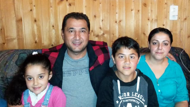 La famiglia Youssef.