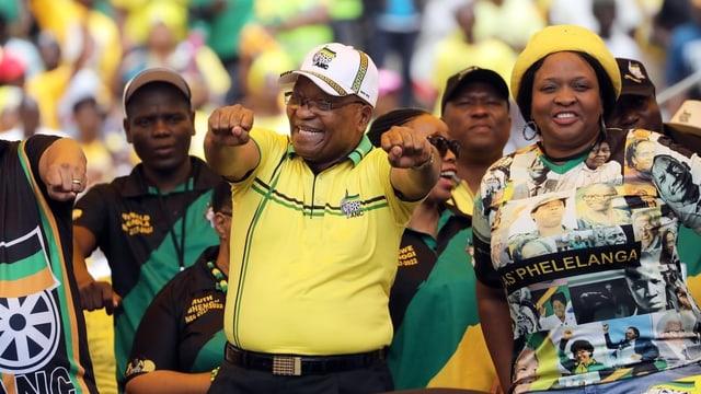 Der ehemalige Präsident Zuma.