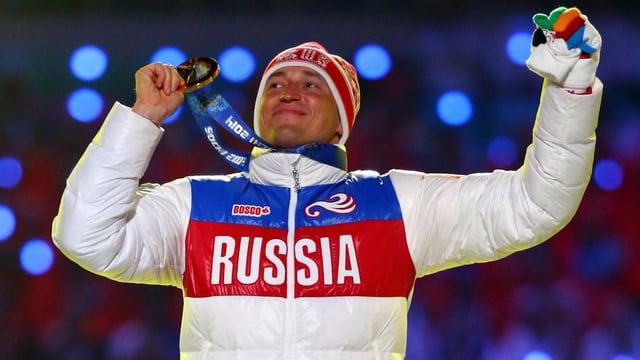 Skilangläufer Alexander Legkow.
