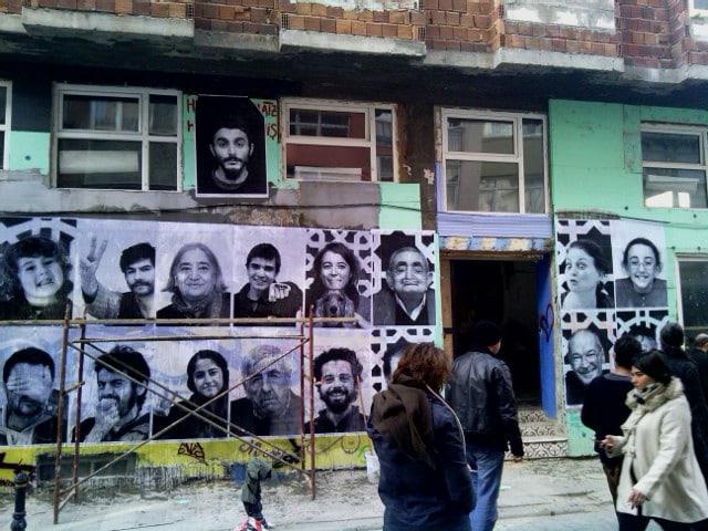 Istanbuls erstes besetztes Haus.