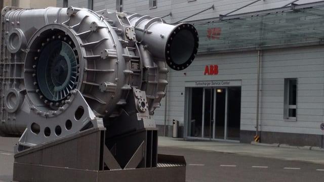 Das Service Center von ABB Turbolader in Baden.