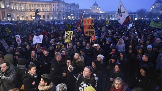Demo in Wien