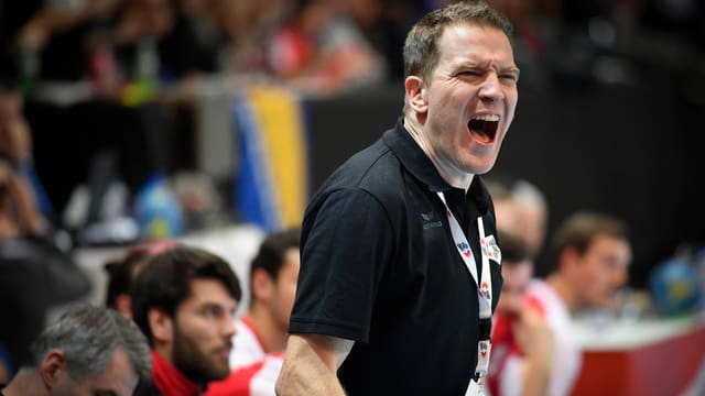 Der Schweizer Handball-Nationaltrainer Michael Suter.