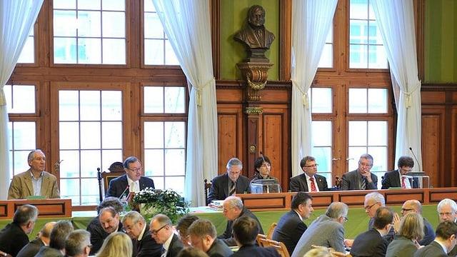 Blick in den Thurgauer Parlamentssaal