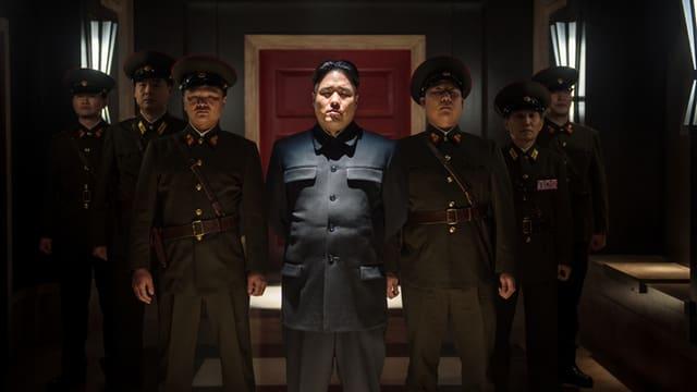 Kim Jong-un in einer Filmszene aus «The Interview».
