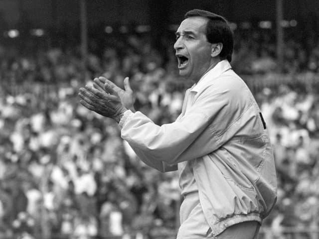 Alexander Mandziara, YB-Meistertrainer von 1986