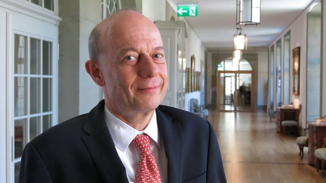 Thomas Aebersold, Präsident der Feld- und Forstkommission der Berner Burgergemeinde.