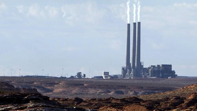 Ein Kohlekraftwerk in der Nähe von Page im Bundesstaat Arizona.