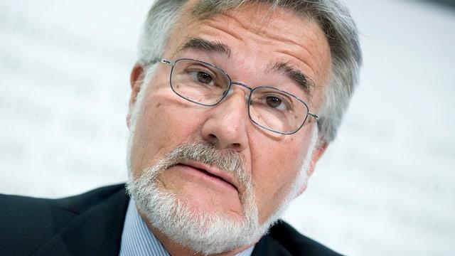 Daniel Zuberbühler, ehemaliger Direktor Eidegenössische Bankenkommission.