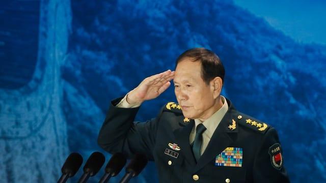 Chinas Verteidigungsminister Wei Fenghe