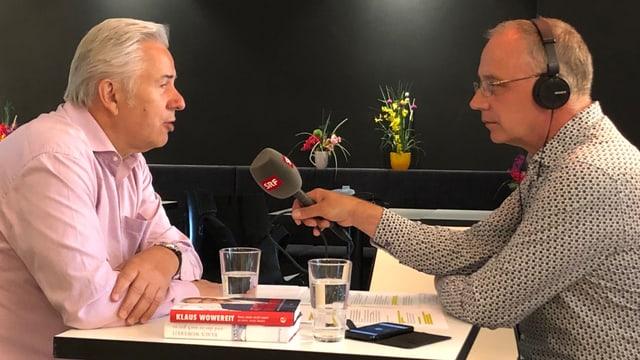 Klaus Wowereit im Interview mit Hans Ineichen