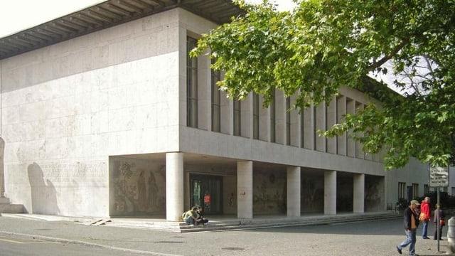 Haupteingang der Universität Basel