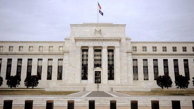 Das Gebäude der US-Notenbank Fed in Washington.