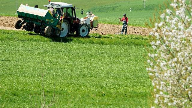 St. Galler Bauern sind lieber auf dem Feld als im Internet.