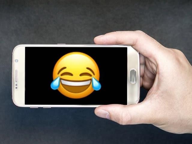 Emoji auf Handy