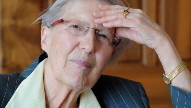 Helen Meier, Porträt.